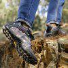Wanderschuhe Herren Winter Outdoor Sports Kletterschuhe Rutschfeste warme Lace-Up - GRAUE WOLKE
