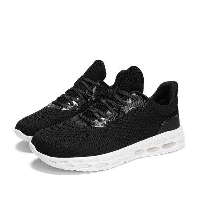 Fashion Casual Breathable Sneaker Casual Flying Weaving Running Shoes