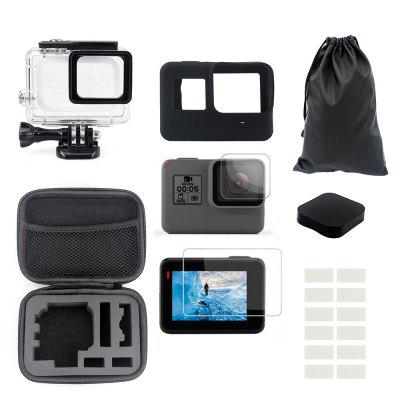 Accessories Kit for GoPro Hero 7 / 6 / 5BLACK Water-Resistant Housing Case Mount