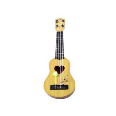 Children'S Four-String Can Play Enlightenment Early Education Music Toy Guitar