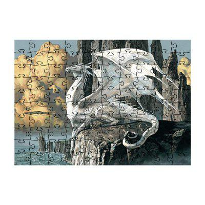 White Flying Dragon jigsaw Toy