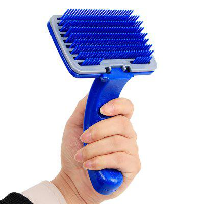 Pet Blue Manually One Key To Clean Comb Cat and Dog According To Touch The Hair