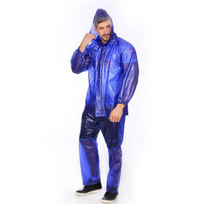 Outdoor Motorbike Cycling Riding Raincoat Rain Suit with Pants