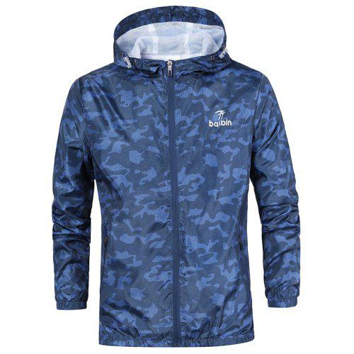 75e9f6edeed0f Sports Coat Men's New Camouflage Outdoor Jacket Spring and Autumn Hat Casual