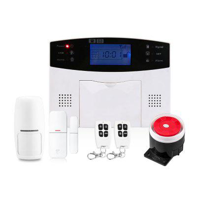 Wireless GSM Alarm System Home security Alarm Systems with LCD Keyboard
