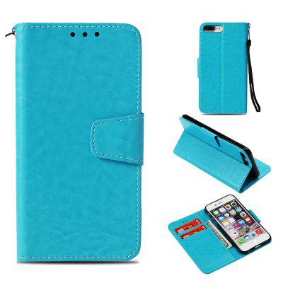 For iPhone 8 Plus Case Flip PU Leather Wallet Cover For iPhone 7 Plus