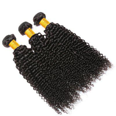 Indian Curly Hair 3 Bundles Unprocessed Human Hair Extensions Deep Curly Weave