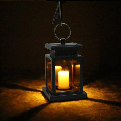 Solar Powered LED Outdoor Candle Lantern Outdoor Home Garden Decoration