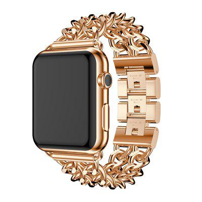 40MM Cowboy Chain Stainless Steel Strap Watch Band for Apple Watch Serie 1 2 3 4