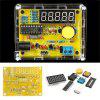 DIY Frequency Tester 1Hz-50MHz Crystal Counter Meter With Housing Kit - TRANSPARENT