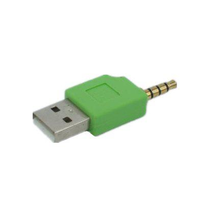 3.5mm to USB 2.0 Data Sync Charger Transfer Audio Adapter for iPod 1 / 2