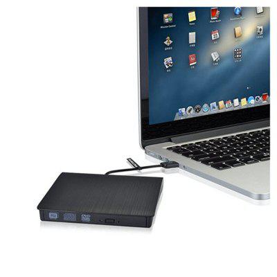 DVD-RW Pop Up Mobile 3.0 USB Multi Grabadora de DVD regrabable en negro