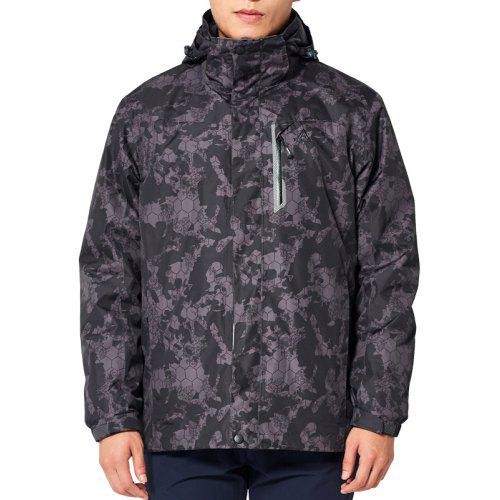 8ef76e5db HUMTTO Hiking Jackets Men Winter Outdoor Sports Warm Removable Thicken
