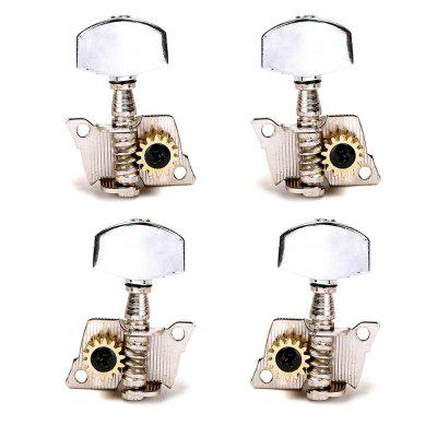 2R+2L Guitar Ukulele Tuning Pegs Button Strings Tuning Tuners Heads Accessories