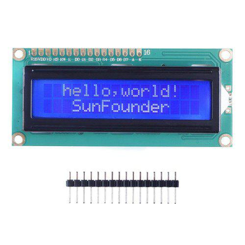 LCD1602 Module with 3.3V Backlight for Arduino R3 Mega2560 Raspberry Pi