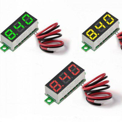 0.28 Inch 2.5V-30V Mini Digital Voltmeter Voltage Tester Meter