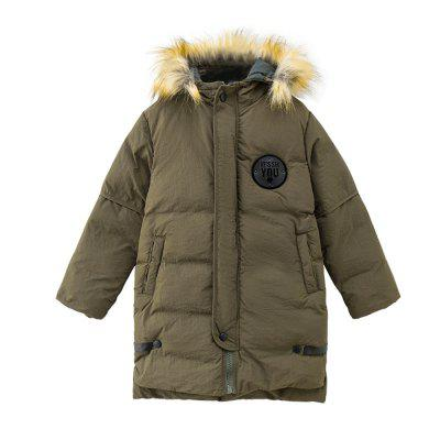 Fashion Girls Cotton Quilted Hooded Jacket To Keep Warm in The Big Girls