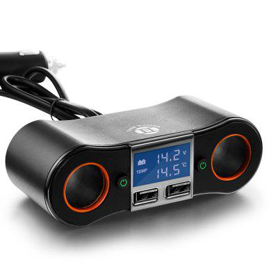 Car Charger NB02 One for Two Car Charger Double Usb Car Phone Charger