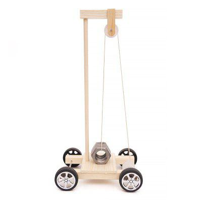 DIY Gravity Vehicle Experimental Children Science Education Toy