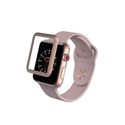 Tela Cheia de 3D Soft Edge para Apple Watch Series 4/3 38MM Curvo 3D Protective