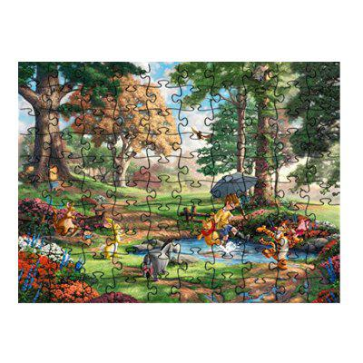 Deep Forest Animal Puzzlesty Jigsaw juguete
