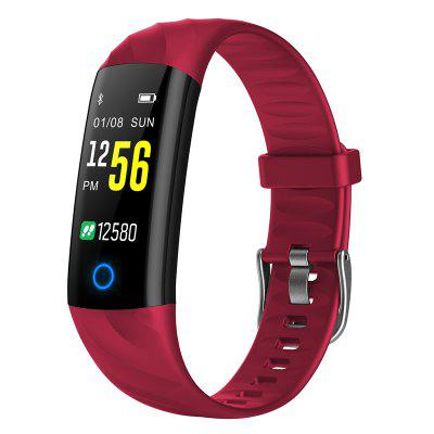 TFT color screen IP68 waterproof heart rate monitoring sports bluetooth bracelet