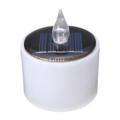 Solar Power Candles Lamp Night Light for Decoration