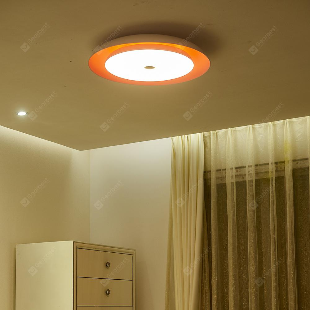 Modern LED Ceiling Lights Dimmable 36W APP Remote Control ...