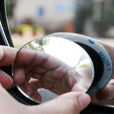 Rearview Mirror Reversing 360 Degree Wide Angle Mirror Small Circular Mirror