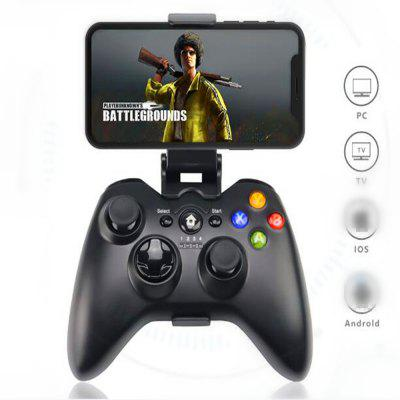C9 Wireless Bluetooth 3.0 Gaming Controller for PC Android Phone - BLACK