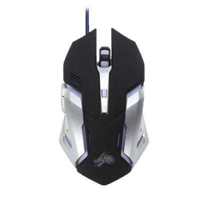 Minismile X10 6 Buttons 3200DPI USB Wired Optical Gaming Mouse Backlit Game Mice