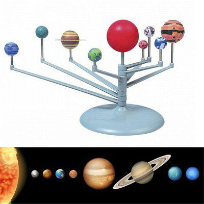 Kids DIY Solar System Planetarium Model Astronomy Planets Learning Develop Toys