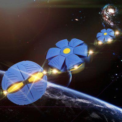 UFO Flying Outdoor Disc Ball Boomerangs Magic Kids Toy