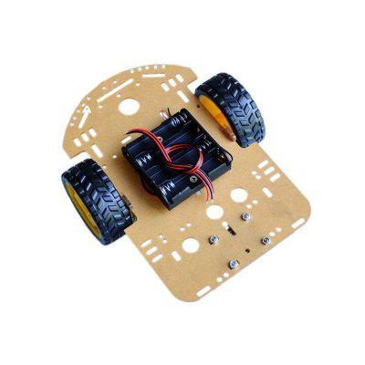 DIY 2WD Tracking/Barrier/Intelligent Vehicle Chassis Kit Intelligent Robot