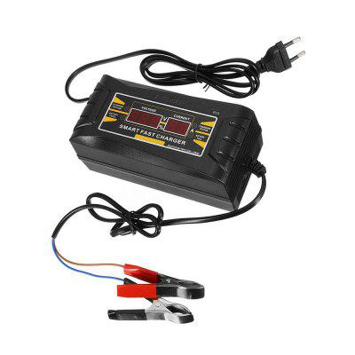 Full Automatic Car Battery Charger 110-240V To 12V 6A Smart Fast Power Charging