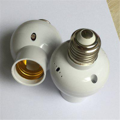 E27 To E27 Remote Control Lamp Holder Remote Control Can Be Timed