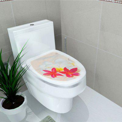 Toilet Sticker Animal World Flamingo Home Decoration Stickers