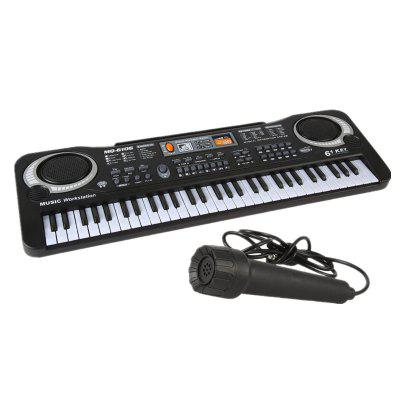 61KEY Digital Music Electronic Musical Instrument with Microphone