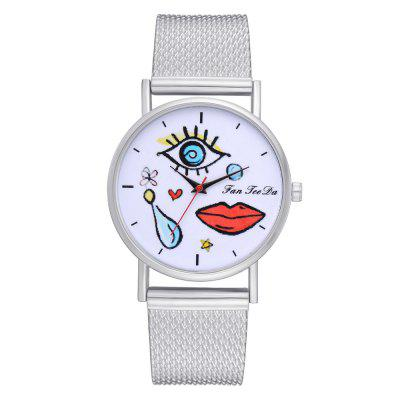 Popular Leisure Ultra-Thin New Silicone Watch Brand Fashion Ladies Watch