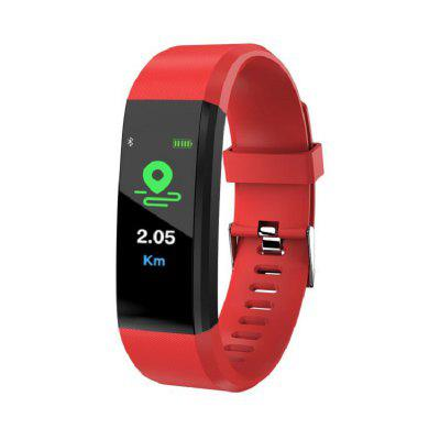 IP67 Water-Proof Color Screen Heart Rate Blood Pressure Monitoring Smart Watch