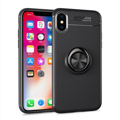 Pro iphoneX Magnetická konzola Finger Ring Soft Cover Cover Shell