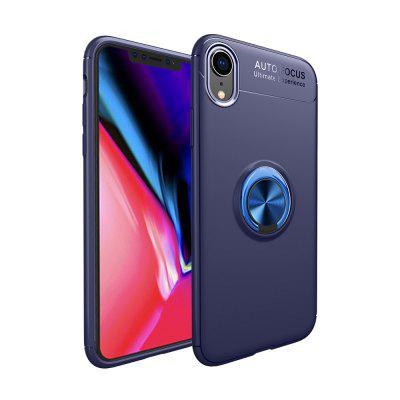 Für IphoneXr Magnethalterung Fingerring Soft Case Cover Shell