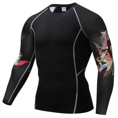 Fast Dry Fitness Suit para hombre Camiseta de baloncesto Running Fitness Fitness Trajes