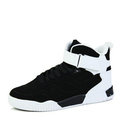 Men'S High-Top Design and Color Street Dance Board Shoes