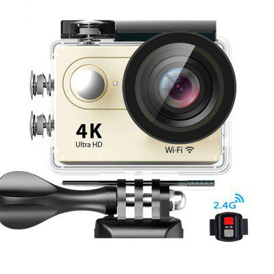 4K Action Camera 2.0 Inch WIFI Waterproof With Remote Control Sports Camera Image