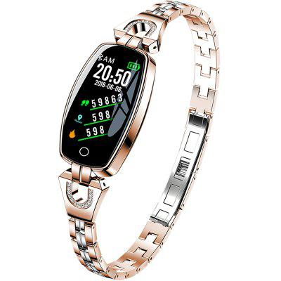 H8 smart bracelet waterproof heart rate monitoring bluetooth android IOS fitness