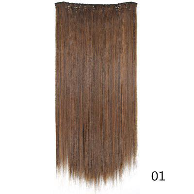 U-Shaped Half Head Cover Synthetic wig Long Straight Hair