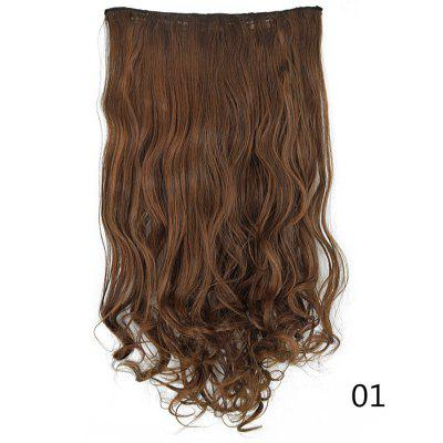 U-Shaped Half Head Cover Synthetic Wig Long Curly Hair