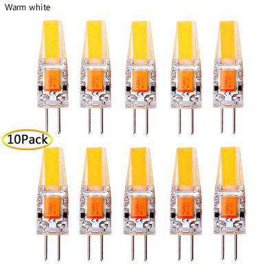 Dimmable G4 COB 12V AC/DC LED Light 3W 6W High Quality LED G4 1505COB Lamp Bulb