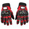 PRO-BIKER  MCS-01C Motorcycle Off-road Full Finger Knight Gloves - RED